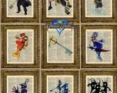 Kingdom Hearts Dictionary Art Series