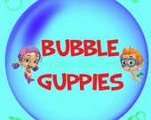 Bubble Guppies Hershey Candybar Wrapper - Birthday Party Favor - Special Price