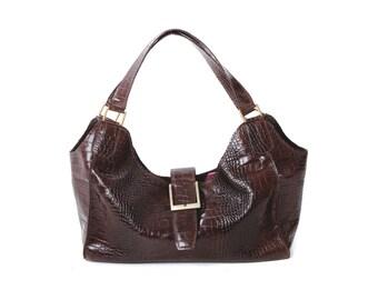 Verona Croc Bag