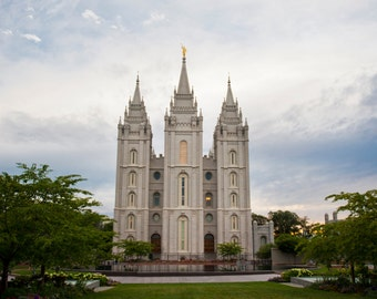 Digital Download Photo of The Salt Lake Temple