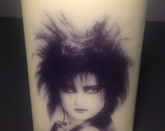 Siouxsie Sioux Pillar Candle