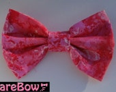 Big Pink Butterfly Hair Bow