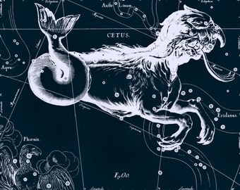 Astronomy, Constellation of Cetus, Moon glob, Star, Astrology zodiac, 52