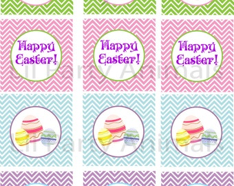 DIY Printable Easter Cupcake Toppers (INSTANT DOWNLOAD)