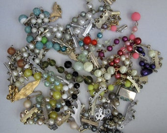 Vintage 1960's Earrings clasps and components offered