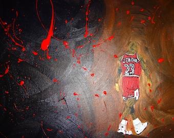 Michael Jordan (Painting)