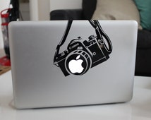 Canon Camera Funny Decal Sticker for Apple MacBook