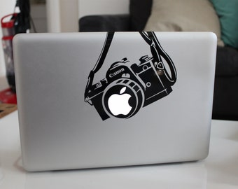 Canon Camera Funny Decal Sticker for Apple MacBook