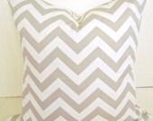 PILLOW  Covers Tan Decorative Throw Pillows 18x18 Taupe Throw Pillow Covers Home and living home decor
