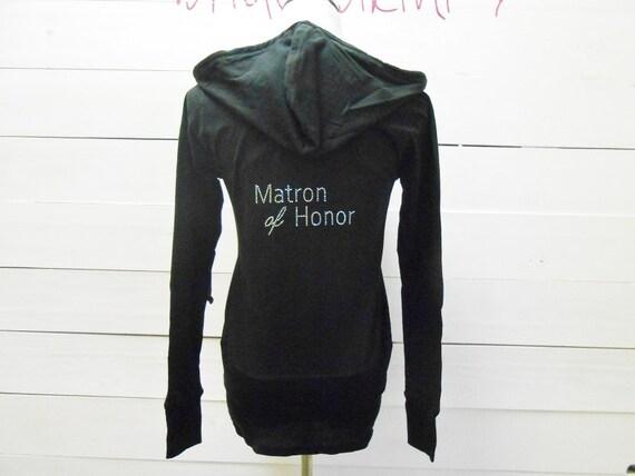 Maid of honor hoodie