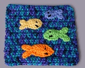 PDF Crochet Pattern File - Fishy Applique