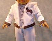 Western Horse Warm Up Suit made to fit 18 inch dolls