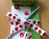 DIY Apples Notepad and Notepad Cover (printable pdf file, customizable, editable) - Perfect for Teachers and Mothers Day