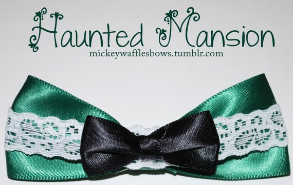 Haunted Mansion Bow