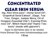 Organic Acne Serum, Highly Concentrated, For Serious Break Outs