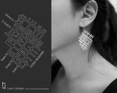 Melbourne City Earrings