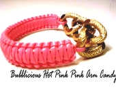Bubblelicious Pink Arm Candy Bangle Bracelet