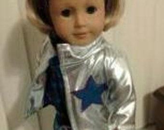"Marina Rockstar Jacket 4 pcs Outfit for American 18"" Doll  Fresh Beat Band"
