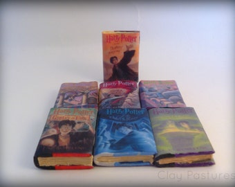 Mini Harry Potter Books--Complete Set