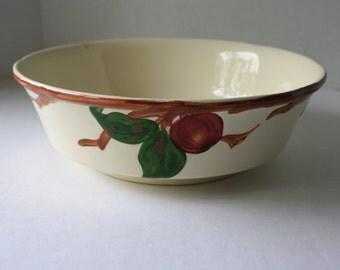 Vintage Franciscan Apple Vegetable Serving Bowl