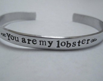 """You are my Lobster"""" bracelet"""