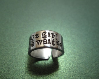 I am the Girl who waited ring