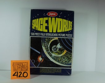 1960's Jaymar Space Worlds Puzzle