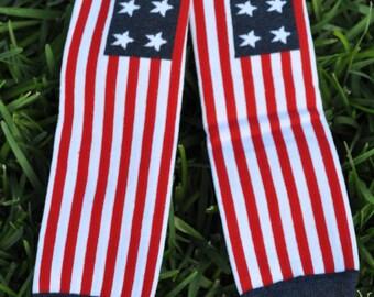 US Flag Leg Warmers