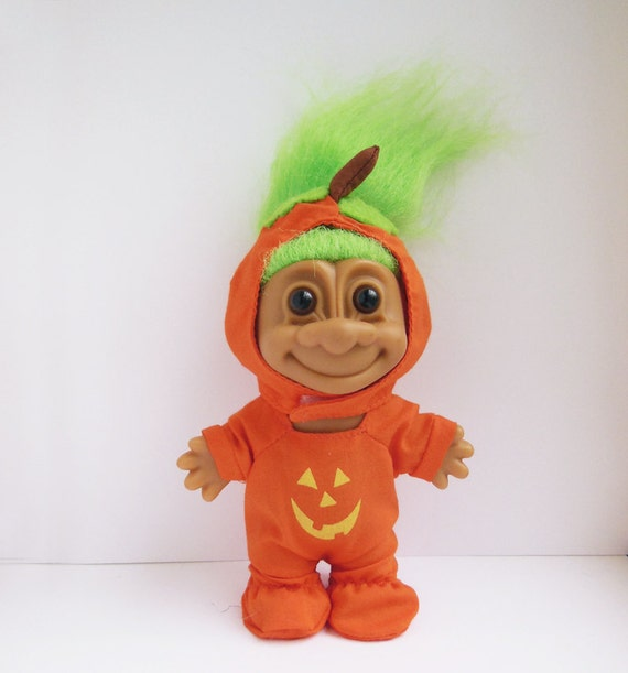 Vintage Russ Halloween Troll Doll By HickoryValley On Etsy