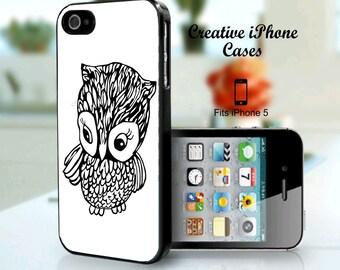 iPhone 5 Case Cover Cute Little Owl