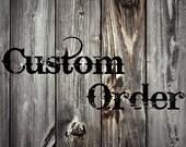 Custom Listing for Andrea