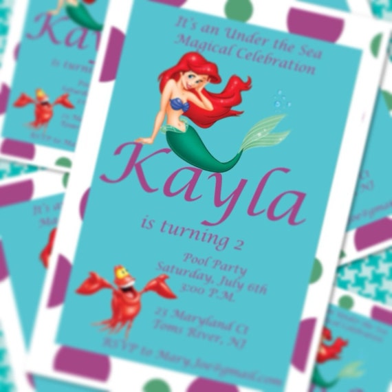 Customized Party Invitations with best invitations layout