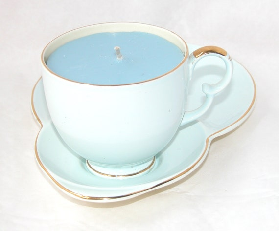 Art Deco Tennis Candle Cup