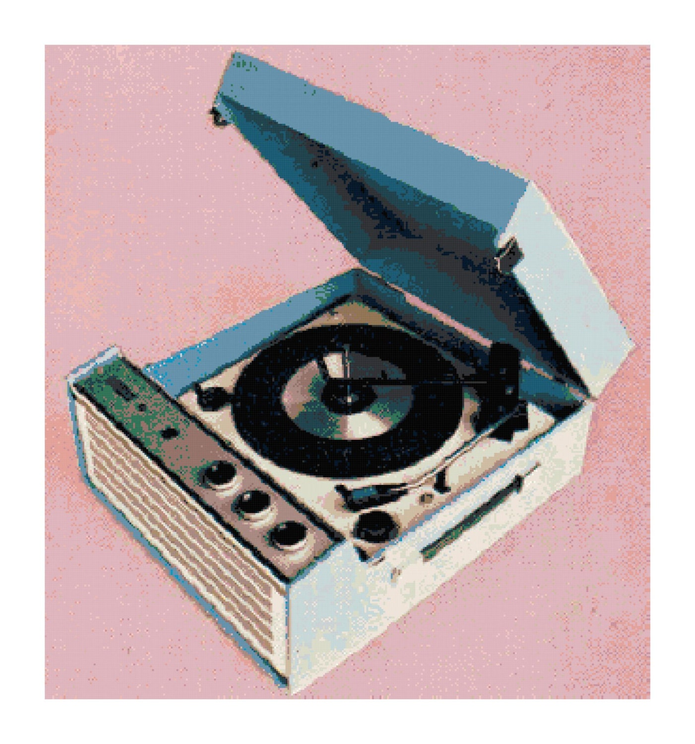 Ge record players Etsy