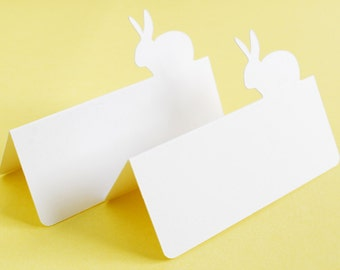 Bunny Rabbit Tent style Place Cards Set of 24