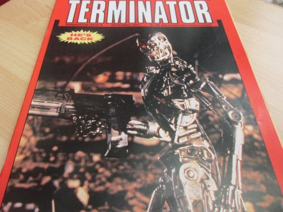 Vintage The Terminator Comic Issue 2 September 1991