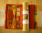 Kit à coudre // Jolie pochette portefeuille pour femme, modèle Madras de Martinique