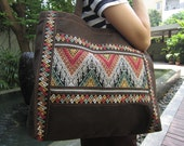 Local Villager hand-weaven tote - CHOZIdesign