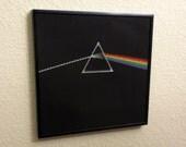 Cross stitch pattern - Dark Side of the Moon album cover