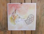 Mushroom Talk Print