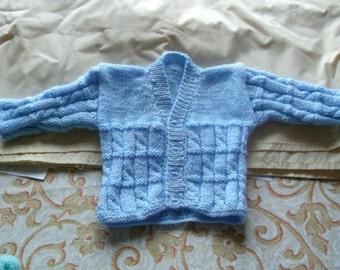 blue babies cardigans