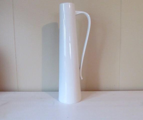RESERVED Mid Century Sgrafo Vase