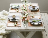 Rustic Farm Table (all colors available)