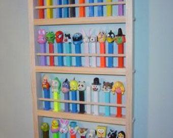 MEDIUM- PEZ DISPLAY shelf Holds 44 dispensers