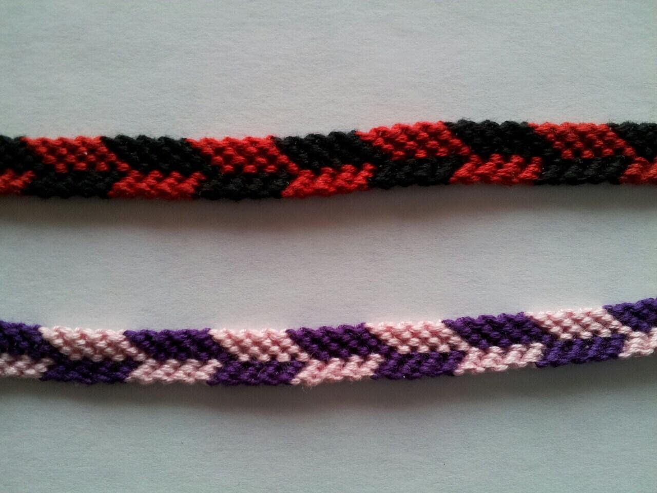 checkered friendship bracelets string friendship arrow