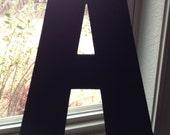 Chalkboard Letter Large