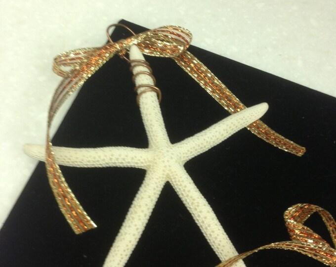 Starfish Ornaments - Set of 4