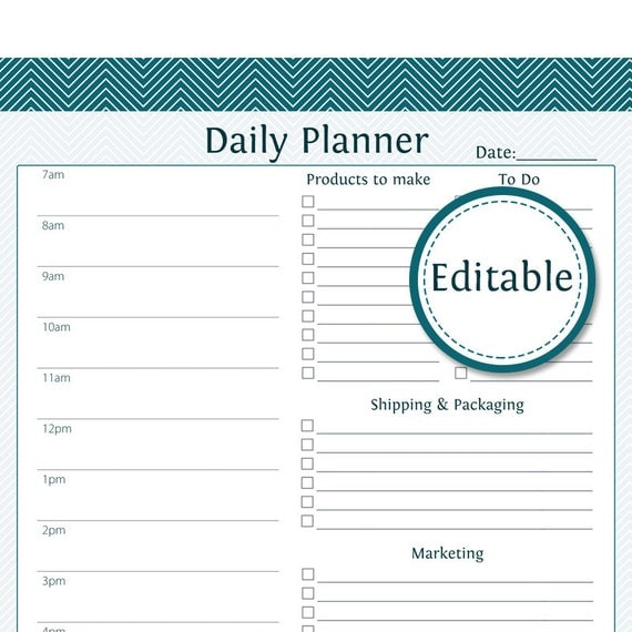 Daily Agenda Pdf – My Blog