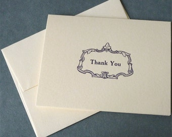 THANK YOU-Letterpress Stationery