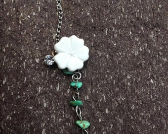 The Turqouise Flower Necklace